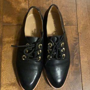 Aldo Black lace shoes